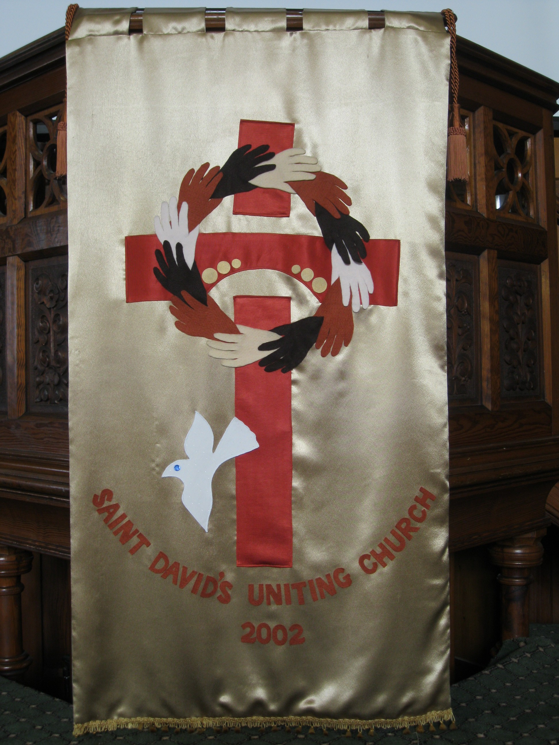 St David's Uniting Church Banner