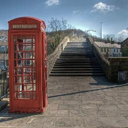pontypridd bridge and phonebox