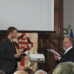 Rev. Simon Walkling, URC, Synod of Wales Moderator, asks the minister-elect to affirm his faith