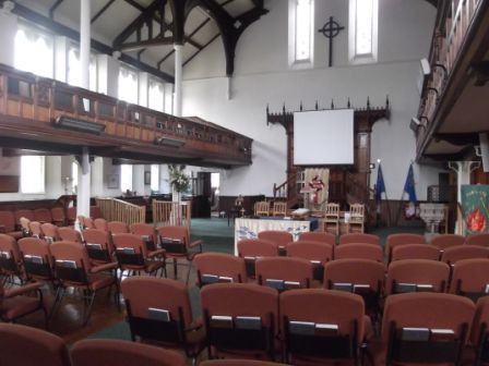 Concerts can be held in the Church Sanctuary