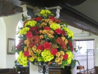 Harvest Flowers 2013