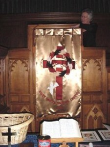St. David's Uniting Church Banner