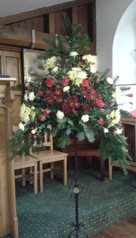 Christmas Flowers 2013