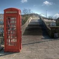 pontypridd bridge and phonebox