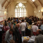 St. David's Uniting Church, Lunch in the Hall before the service - for visitors from London and all over the UK