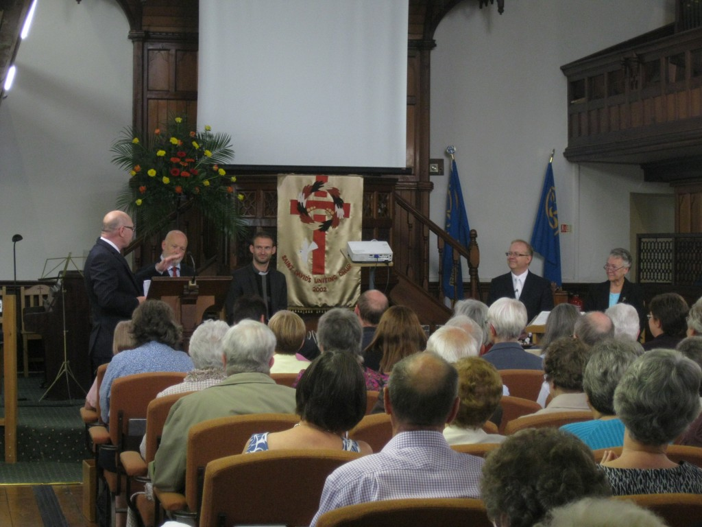 St. David's Uniting Church, Presentation of the Minister-elect – Rev. Vaughan Rees