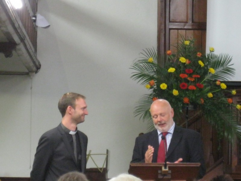 One of the many welcomes was from Rev. Nick Bradshaw (South Wales Baptist Association)