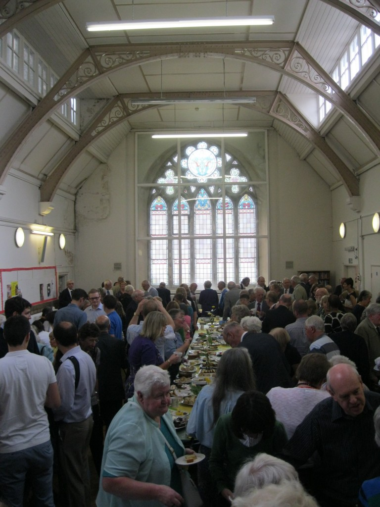 St. David's Uniting Church, More refreshments after the service