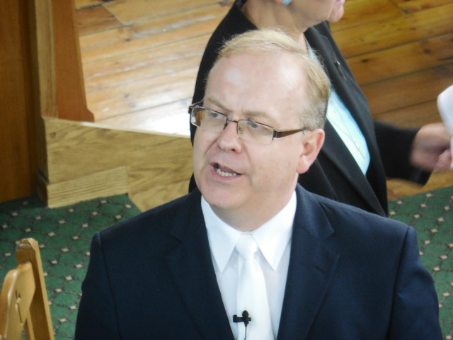 Rev. Simon Walkling, Moderator of the Synod of Wales, URC