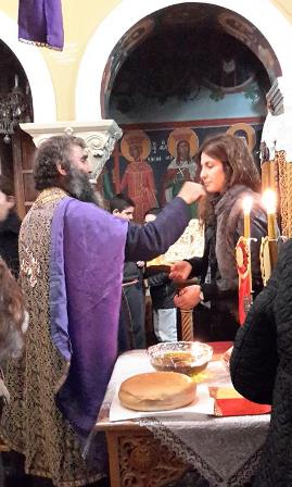 Good Friday anointing in Crete